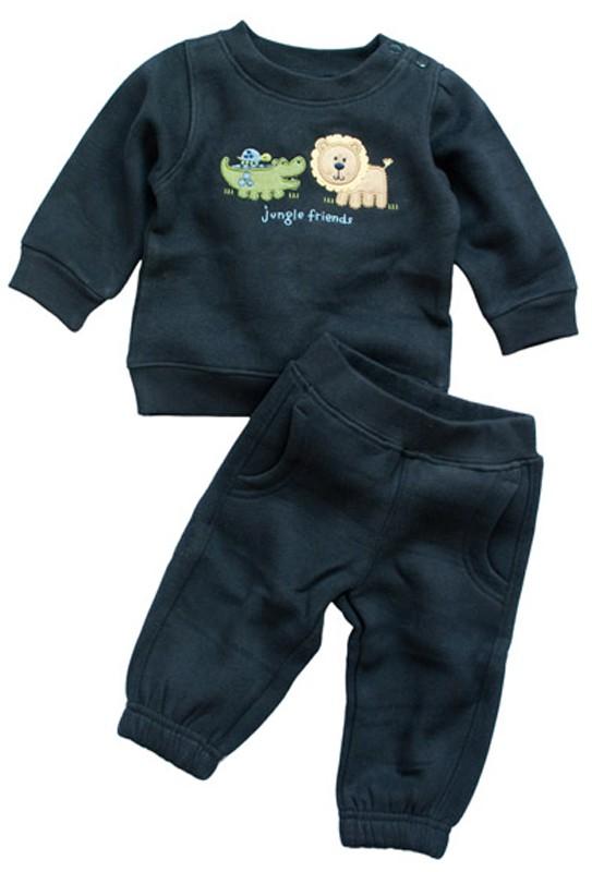 "Baby Jogginganzug ""Jogger Löwe"" von Bubbu Babymode"