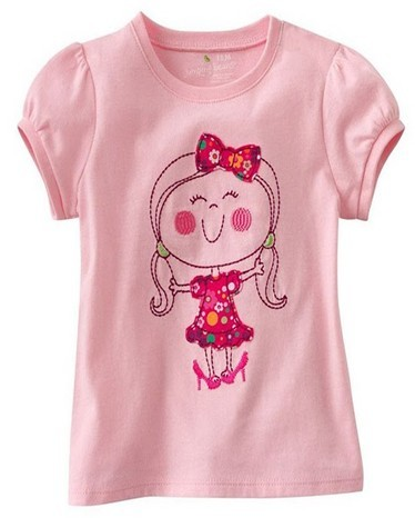 "Kinder Shirt Mädchen ""Lady"" pink   Kinder Sweatshirt   Tshirt"