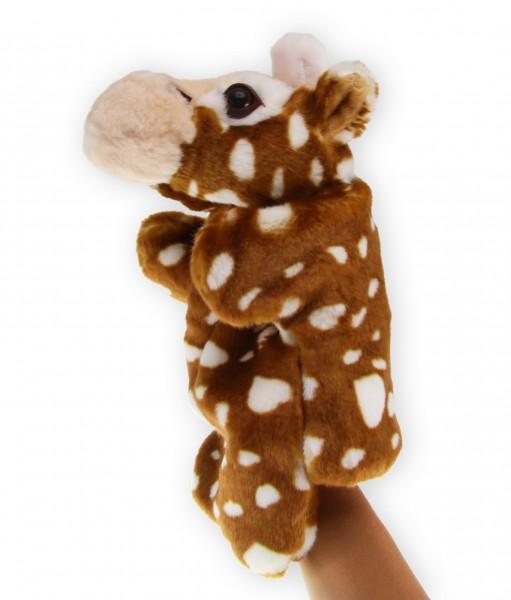 Handpuppe Giraffe   Handpuppe Tiere, ca 20cm